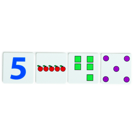 Dotties Counting Party Number Tiles  large