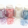 Assorted Iridescent Collage Flakes 4pk  small