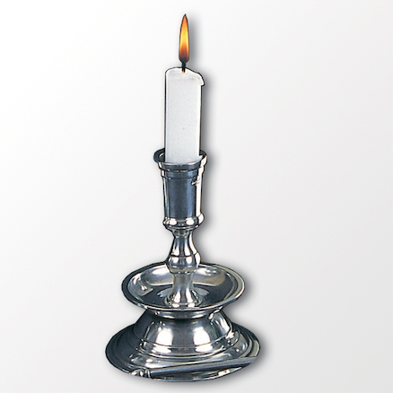 Candlestick and Candle 2pk  large