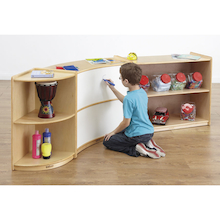 Create a Corner Bookcase Set  medium
