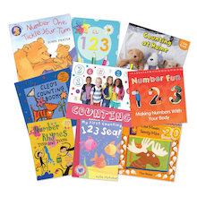 Counting Songs and Rhymes Books 9pk  medium