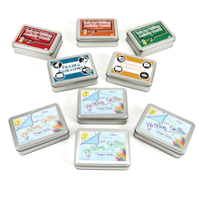 Literacy Lesson Activity Cards Tin Set  medium