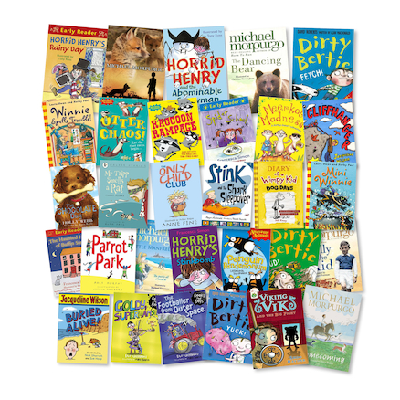 KS1 and KS2 Significant Contemporary Author Books   large