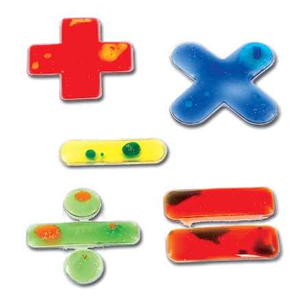Squidgy Sparkles Maths Operations Set 10pcs  large