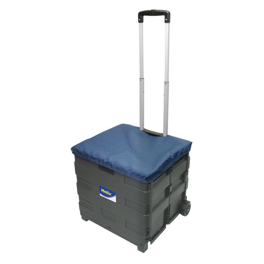 buy folding crate trolley 44l tts. Black Bedroom Furniture Sets. Home Design Ideas