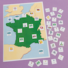 Map of France Magnetic Chart  small