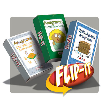 Flip-It Exploring Anagram Activity Cards  large