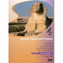 Ancient Egypt and Greece DVD  medium