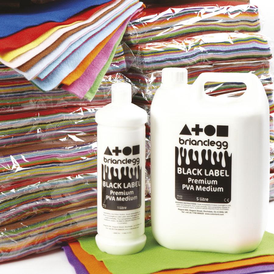 Premium Black Label: Buy Black Label Premium PVA Medium Glue