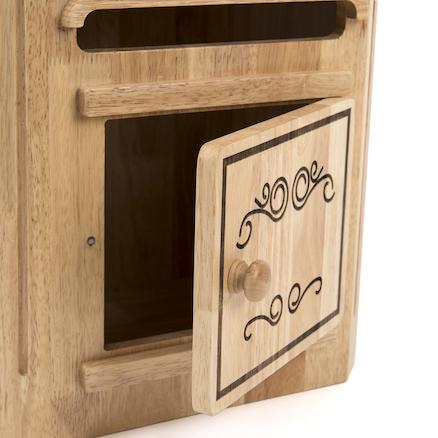 Buy Magic Wooden Role Play Post Box Tts