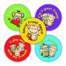 EYFS Friendship Reward Stickers 250k  medium