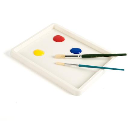 Buy Shallow White Plastic Inking Tray