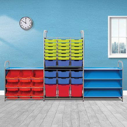 Callero Single Tall Tray Storage Unit  large