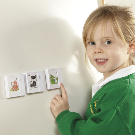 Talking Jolly Phoneme Cards  large