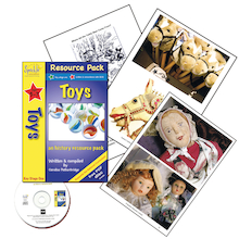 Complete Toys Topic Resource Pack and CD  medium