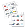 Transport French Vocabulary Bingo Game  small