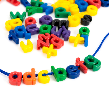 Plastic Alphabet Letters Lacing Set  large