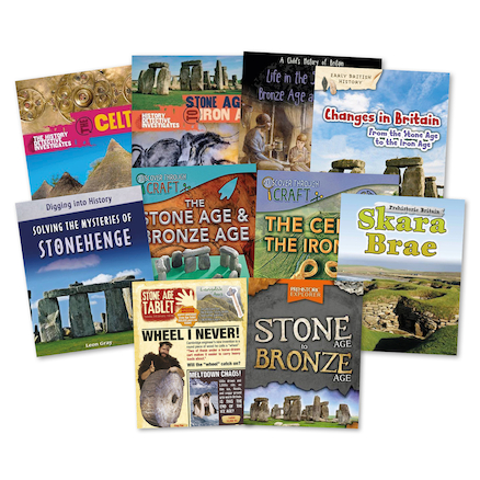 Stone, Bronze and Iron Age Books 10pk  large