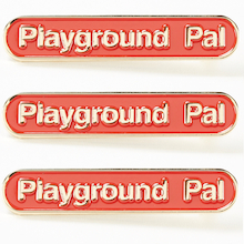 Playground Pal Enamel Badges 15pk  medium