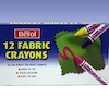 Berol Fabric Assorted Crayons 12pk  small