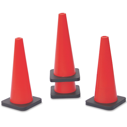 Tall Cones 18'' 4pk  large