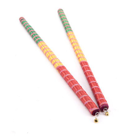 Indian Festival Musical Sticks 2pk  large