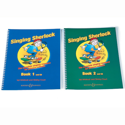 Singing Sherlock Book and CD  large