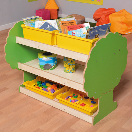 Forest Moveable Book Shelves  large