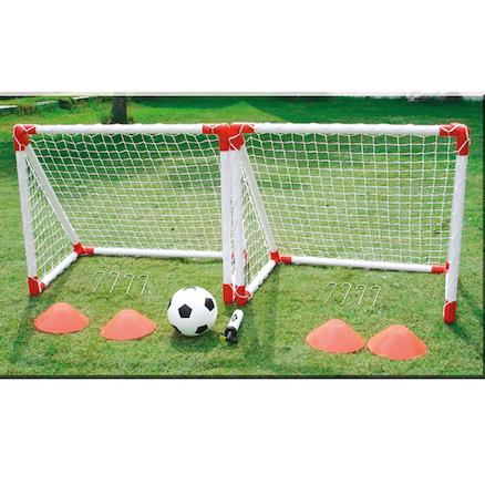 Ворота футбольные из досок