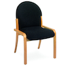 Wooden Framed Upholstered Chair  small