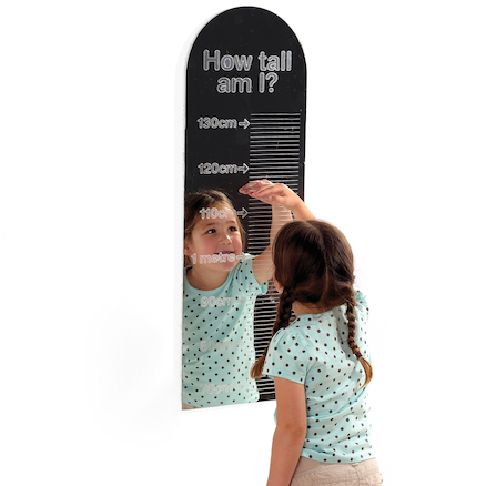 How Tall Am I? Measuring Mirror  large