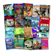 KS2 Comic Strip Graphic Novel Books 20pk  medium