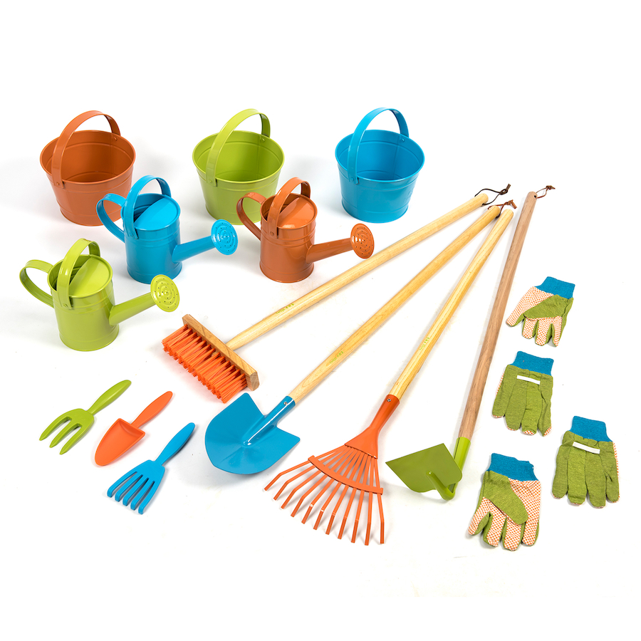Buy twigz children 39 s gardening tools 15pk tts for Gardening tools toddlers