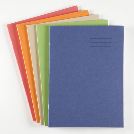 8 x 6.5'' 80 pages 100pk Exercise Books  large