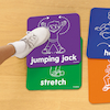 Lets Get Moving! Activity Mats  small