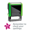 Self Inking Marking Stamps 46 x 18mm  small