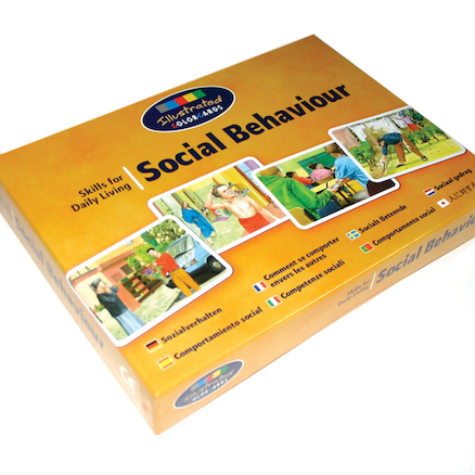 KS3 Social Behaviour Photo Discussion Cards 44pk  large