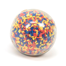 Multicoloured Soft Sensory Ball  medium