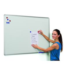 Aluminium Frame Magnetic Whiteboard  medium