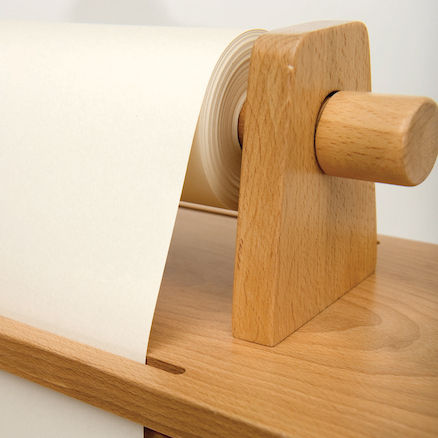 Wooden Easel Paper Roll  large