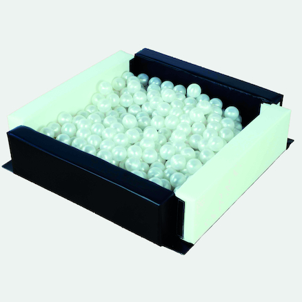 Black and White Ball Pool with 250 Balls  large