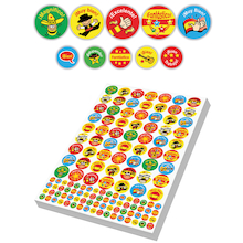 Assorted Spanish Reward Stickers 3930pk  medium
