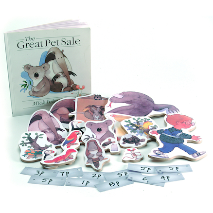 Great Pet Sale Money Skills Game  large