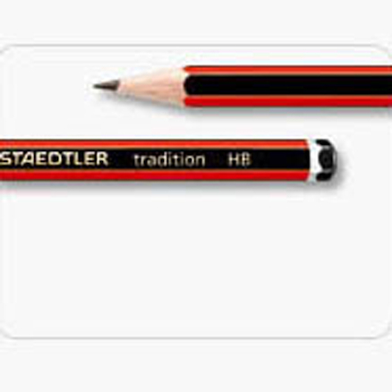 Staedtler Tradition Blacklead Pencils 12pk  large
