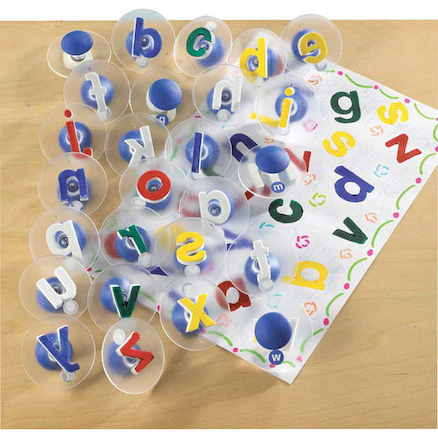 Easy Grip Foam Lowercase Alphabet Stampers 26pcs  large