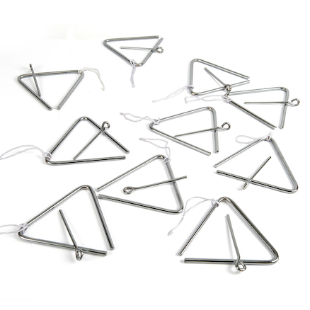 Music Triangles And Beater Packs  large