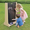 Wooden Outdoor Mark Making Chalkboard Panel  small
