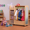 Mobile Wooden Dressing Up Trolley  small