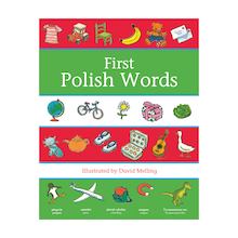 First Words Polish Dictionary  medium