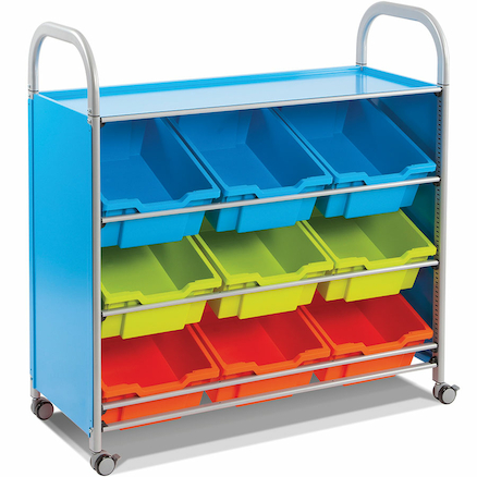 Callero Tilted Tray Trolley  large